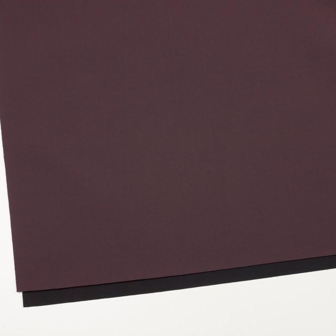 ナイロン&ポリウレタン×無地(レーズン&ブラック)×ファイユストレッチ(ボンディング) イメージ2