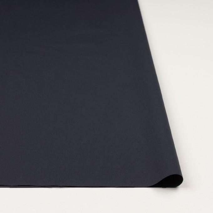 ナイロン&ポリウレタン×無地(ダークネイビー)×ファイユストレッチ_全3色 イメージ3