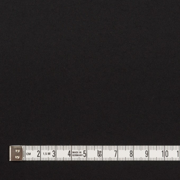 ナイロン&ポリウレタン×無地(ブラック)×ファイユストレッチ_全3色 イメージ4