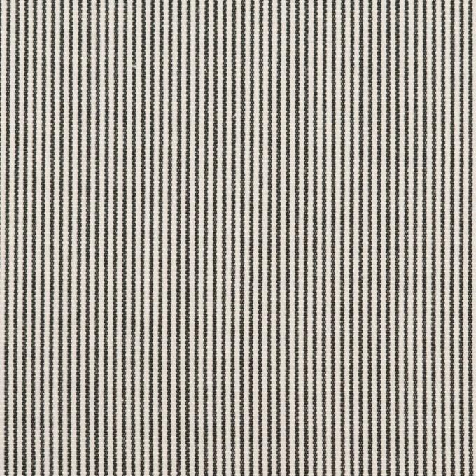 コットン×ストライプ(キナリ&チャコール)×コードレーン_全2色 イメージ1