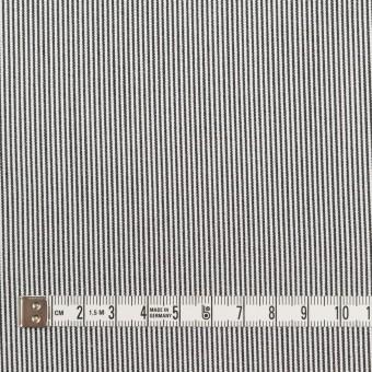 コットン×ストライプ(チャコール)×コードレーン サムネイル4