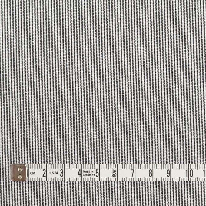 コットン×ストライプ(チャコール)×コードレーン イメージ4
