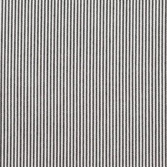 コットン×ストライプ(チャコール)×コードレーン サムネイル1