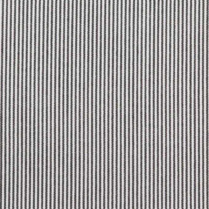 コットン×ストライプ(チャコール)×コードレーン イメージ1