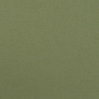 コットン&ポリウレタン×無地(フォレストグリーン)×サージストレッチ