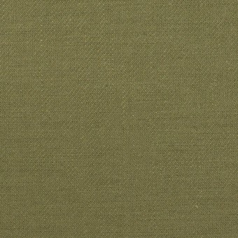 コットン×無地(カーキグリーン)×カツラギ
