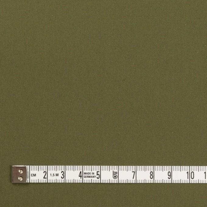 コットン×無地(カーキグリーン)×ポプリン イメージ4