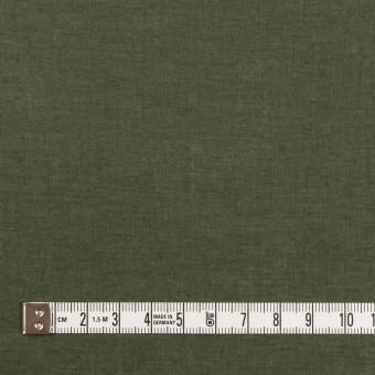 コットン×無地(モスグリーン)×ボイル サムネイル4