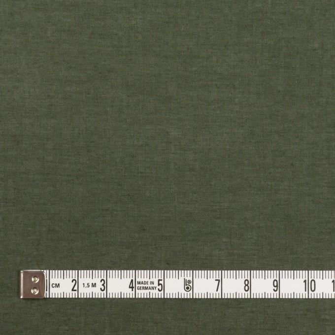 コットン×無地(モスグリーン)×ボイル イメージ4