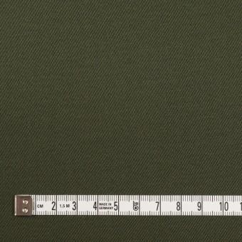 コットン&ポリウレタン×無地(ディープグリーン)×サテンストレッチ サムネイル4