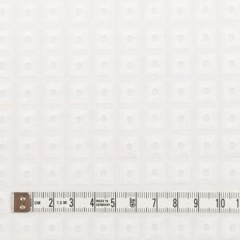 コットン×スクエア(ホワイト)×ローン刺繍_全2色 サムネイル4