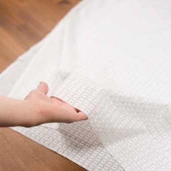 コットン×スクエア(ホワイト)×ローン刺繍_全2色 サムネイル5