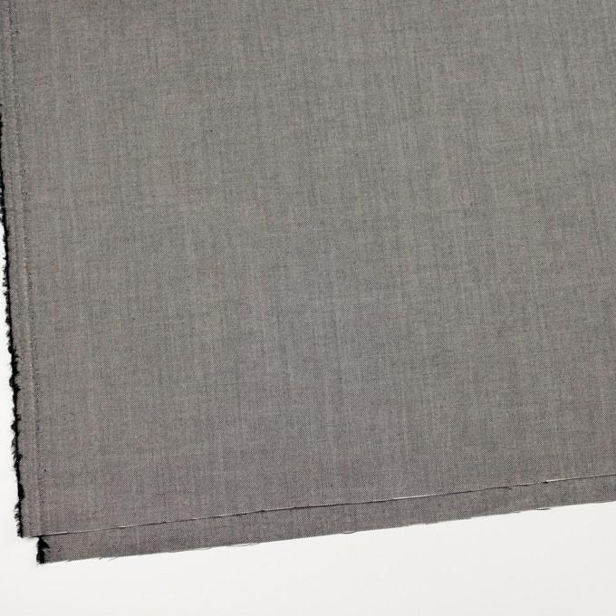 コットン×無地(ブラック)×オックスフォード_全2色 イメージ2