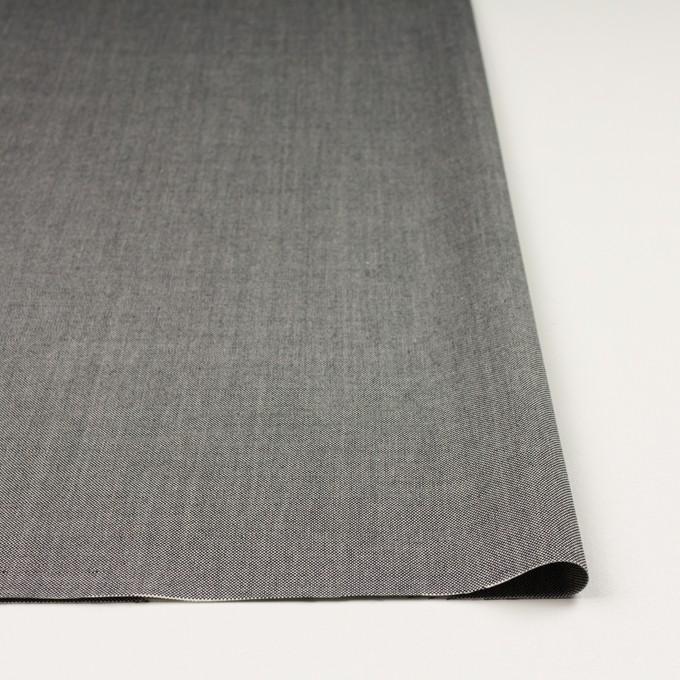 コットン×無地(ブラック)×オックスフォード_全2色 イメージ3