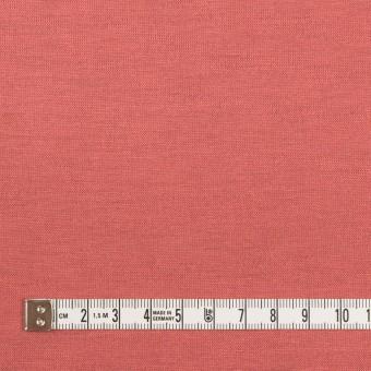 テンセル&ポリエステル×無地(コーラルピンク&パッションオレンジ)×Wフェイス天竺ニット(フォームラミネート加工)_全2色 サムネイル4