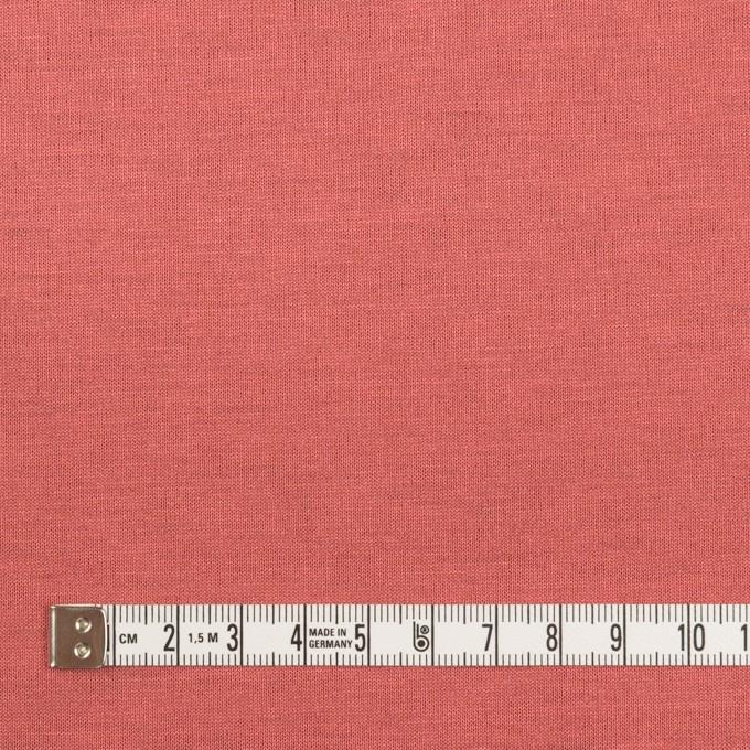 テンセル&ポリエステル×無地(コーラルピンク&パッションオレンジ)×Wフェイス天竺ニット(フォームラミネート加工)_全2色 イメージ4