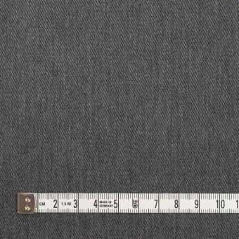 ポリエステル&コットン×無地(チャコールグレー)×チノクロス サムネイル4