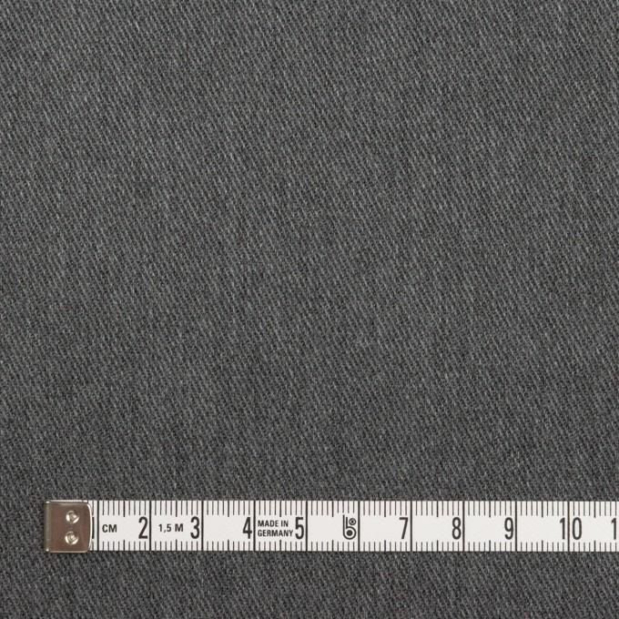 ポリエステル&コットン×無地(チャコールグレー)×チノクロス イメージ4