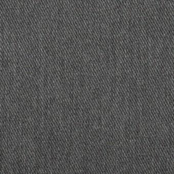 ポリエステル&コットン×無地(チャコールグレー)×チノクロス