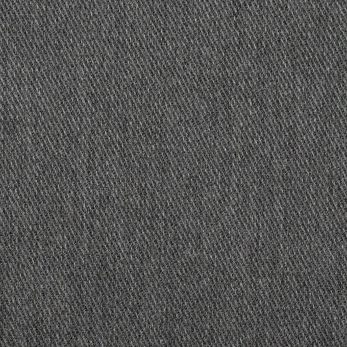 ポリエステル&コットン×無地(チャコールグレー)×チノクロス イメージ1