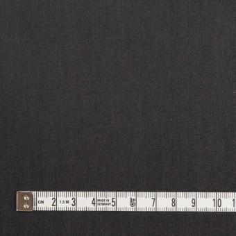 コットン&キュプラ×無地(チャコール)×シャンブレー・ギャバジン_イタリア製 サムネイル4