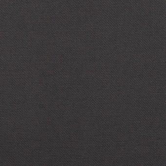 コットン×無地(チャコール)×ギャバジン_イタリア製 サムネイル1