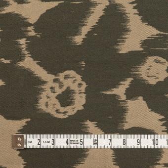 ポリエステル&ナイロン×フラワー(オークル&オリーブドラブ)×形状記憶ジャガード_全2色 サムネイル4