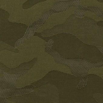 コットン&ナイロン×迷彩(カーキグリーン)×ジャガード_全2色 サムネイル1
