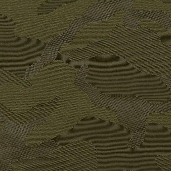 コットン&ナイロン×迷彩(カーキグリーン)×ジャガード_全2色 イメージ1