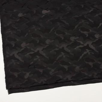 コットン&ナイロン×迷彩(ブラック)×ジャガード_全2色 サムネイル2