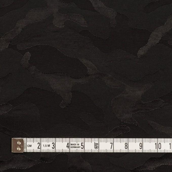 コットン&ナイロン×迷彩(ブラック)×ジャガード_全2色 イメージ4
