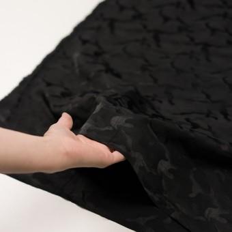 コットン&ナイロン×迷彩(ブラック)×ジャガード_全2色 サムネイル5