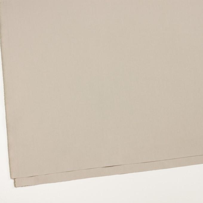 コットン&ポリアミド混×無地(グレイッシュベージュ)×ヘリンボーン・ストレッチ_全2色_イタリア製 イメージ2