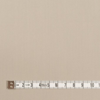 コットン&ポリアミド混×無地(グレイッシュベージュ)×ヘリンボーン・ストレッチ_全2色_イタリア製 サムネイル4