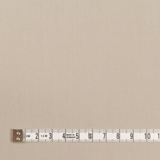 コットン&ポリアミド混×無地(グレイッシュベージュ)×ヘリンボーン・ストレッチ_全2色_イタリア製 イメージ4