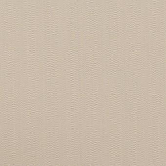 コットン&ポリアミド混×無地(グレイッシュベージュ)×ヘリンボーン・ストレッチ_全2色_イタリア製 サムネイル1