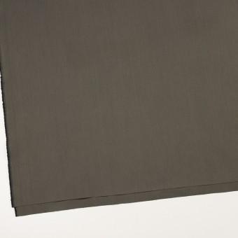 コットン&ポリアミド混×無地(チャコールグレー)×ヘリンボーン・ストレッチ_全2色_イタリア製 サムネイル2