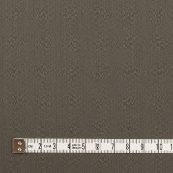 コットン&ポリアミド混×無地(チャコールグレー)×ヘリンボーン・ストレッチ_全2色_イタリア製 サムネイル4