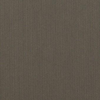 コットン&ポリアミド混×無地(チャコールグレー)×ヘリンボーン・ストレッチ_全2色_イタリア製