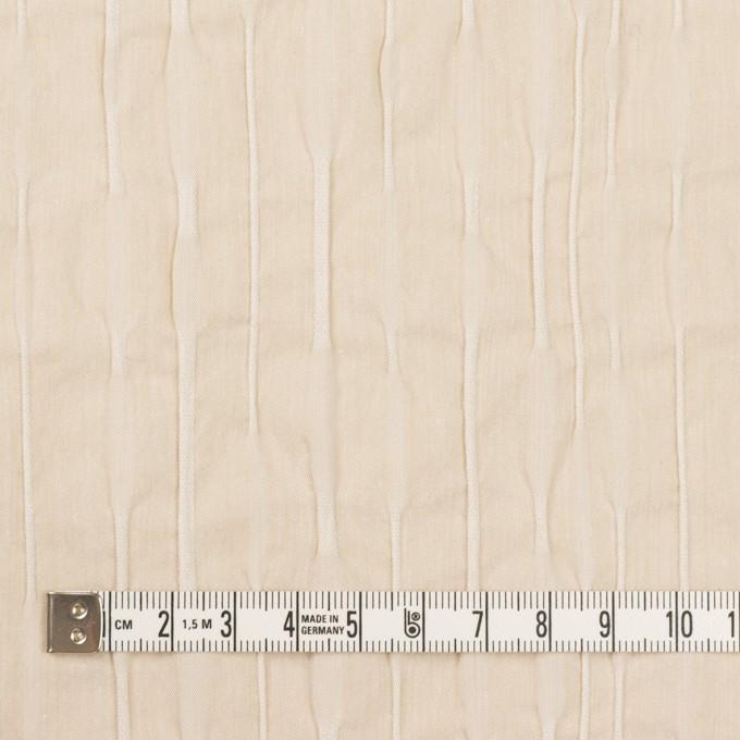 コットン&ナイロン混×無地(キナリ)×タテタック_全2色 イメージ4