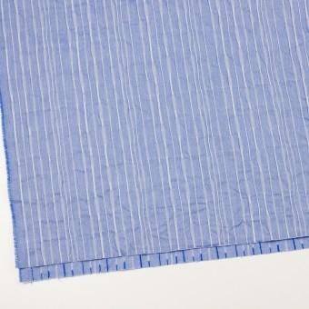 コットン&ナイロン混×無地(ブルー)×タテタック_全2色 サムネイル2