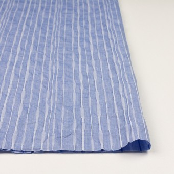 コットン&ナイロン混×無地(ブルー)×タテタック_全2色 サムネイル3