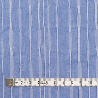 コットン&ナイロン混×無地(ブルー)×タテタック_全2色 サムネイル4