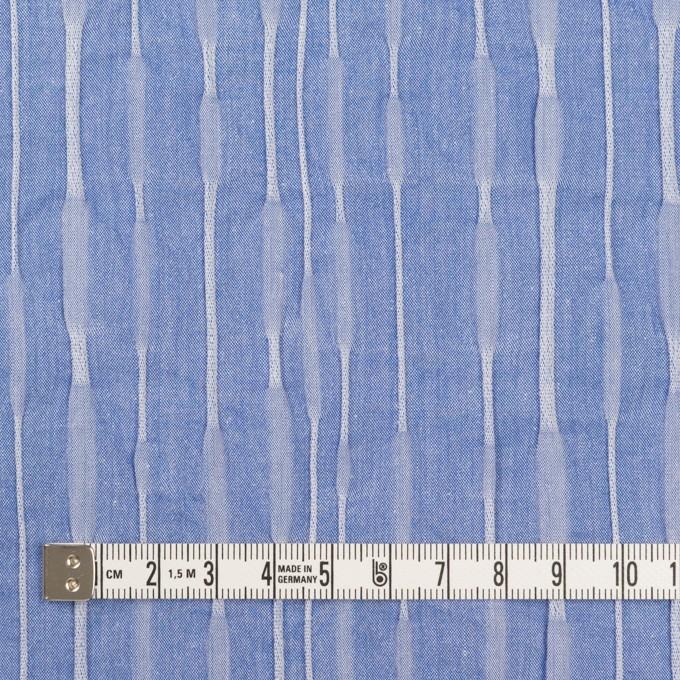 コットン&ナイロン混×無地(ブルー)×タテタック_全2色 イメージ4