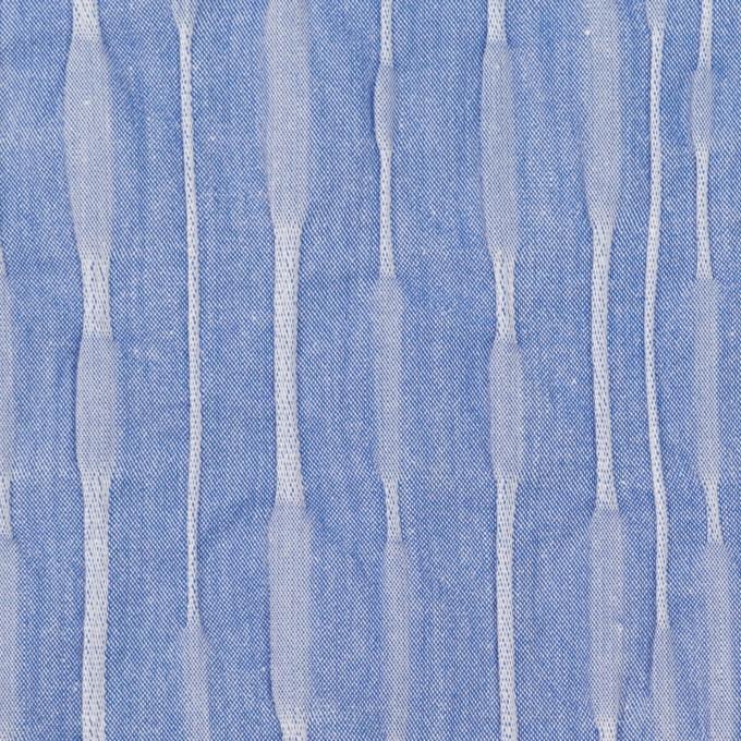 コットン&ナイロン混×無地(ブルー)×タテタック_全2色 イメージ1