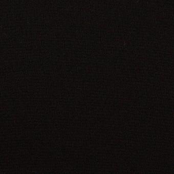 トリアセテート&ポリエステル×無地(ブラック)×バックサテンジョーゼット