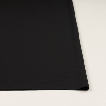 ポリエステル&ポリウレタン×無地(ブラック)×サージストレッチ サムネイル3