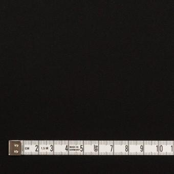 ポリエステル&ポリウレタン×無地(ブラック)×サージストレッチ サムネイル4