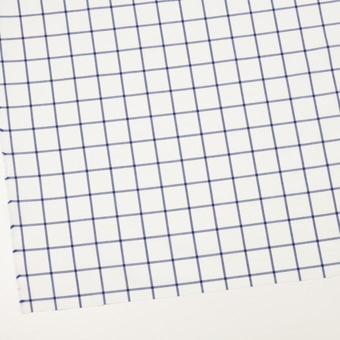 コットン×チェック(ブルー)×ローン イメージ2