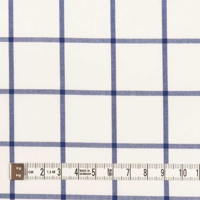 コットン×チェック(ブルー)×ローン イメージ4